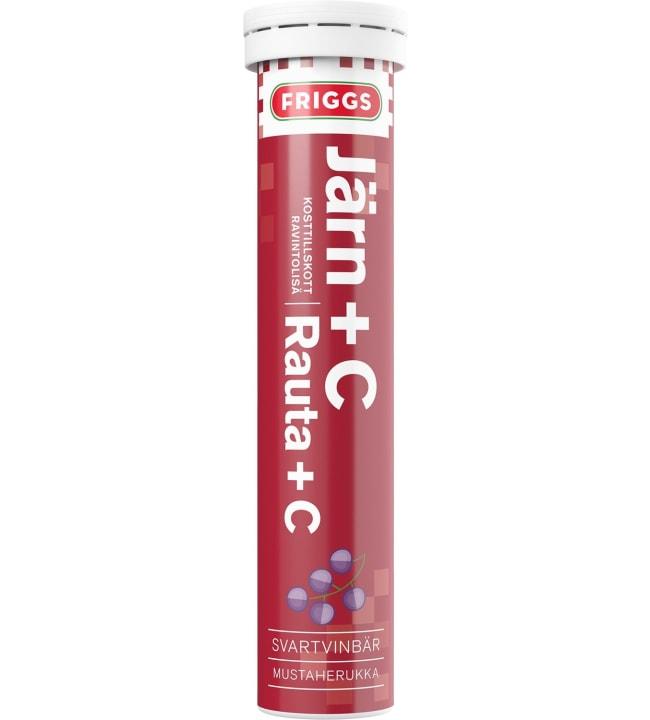 Friggs Rauta+C 20 kpl poretabletti