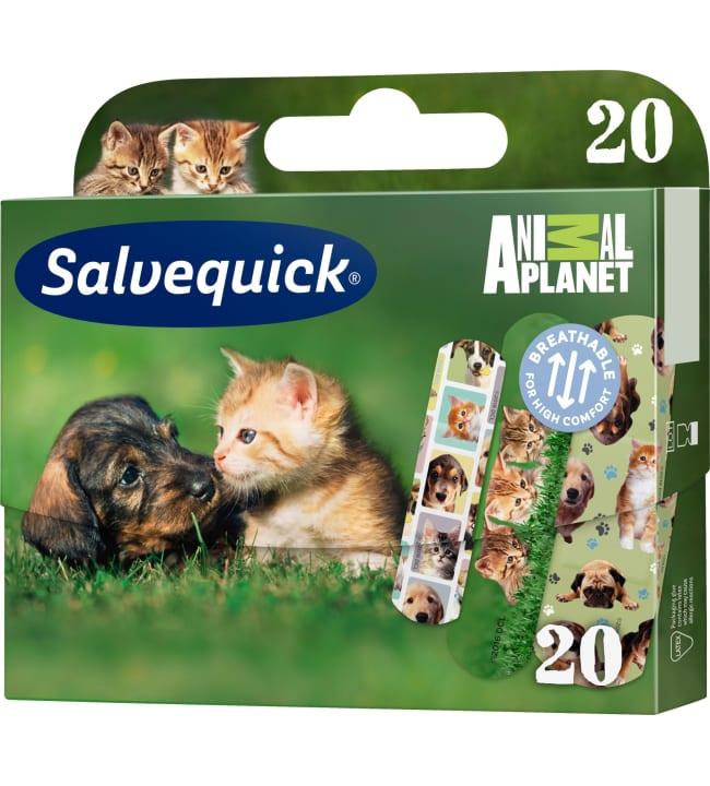 Salvequick Animal Planet 20 kpl laastari