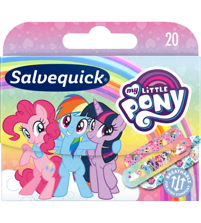 Salvequick My Little Pony 20 kpl lastenlaastari