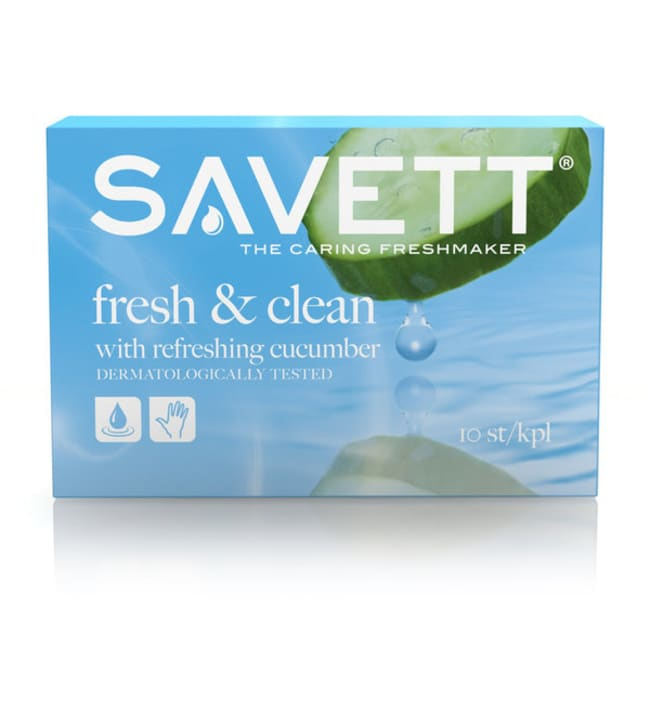 Savett Fresh 10 kpl kosteuspyyhe
