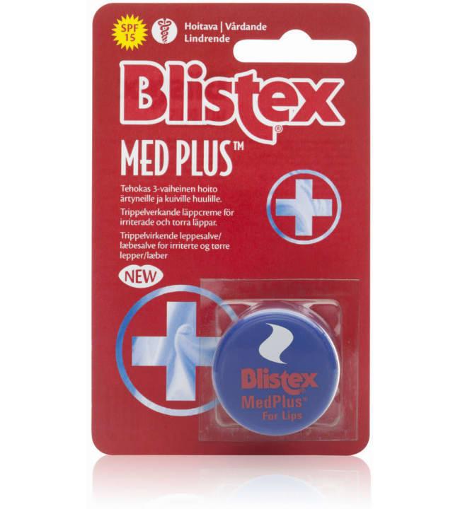 Blistex MedPlus 3-tehoinen 7 ml huulivoide