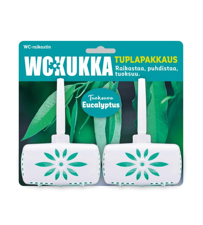 WC Kukka Eucalyptus 2 x 50 g raikastin