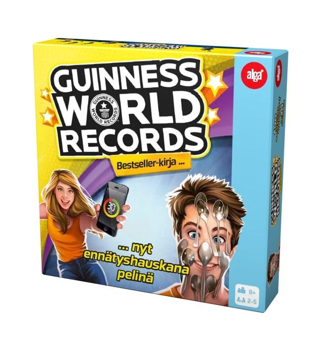 Alga Guinness Wold Records peli