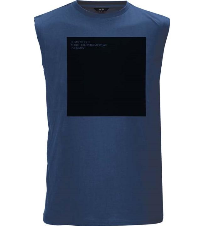 NO.8 miesten hihaton paita