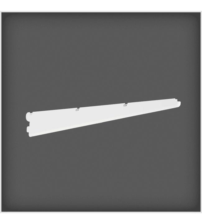 Elfa 500mm valkoinen lankahyllyn kannatin