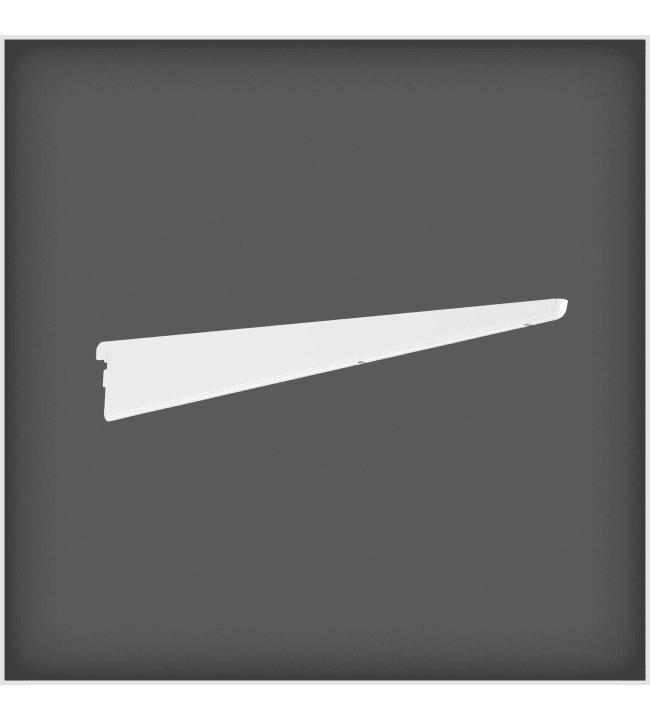 Elfa 470mm valkoinen levyhyllyn kannatin