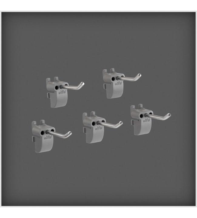 Elfa 479070 Utility lyhyt työkalukoukku