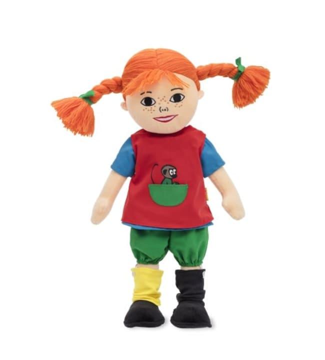 Peppi Pitkätossu suomea puhuva 40 cm nukke