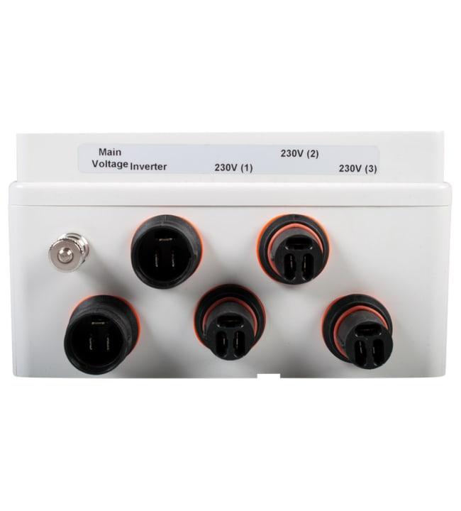 Calix WhisperPower CX 1920035 sähkökeskus 2 tuloa + 3 lähtöä