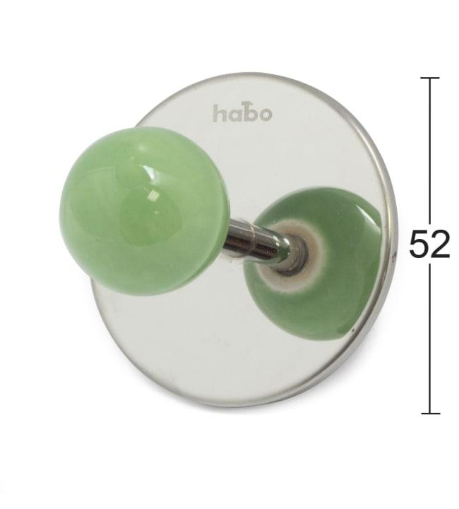 Habo Pearl vihreä koukku