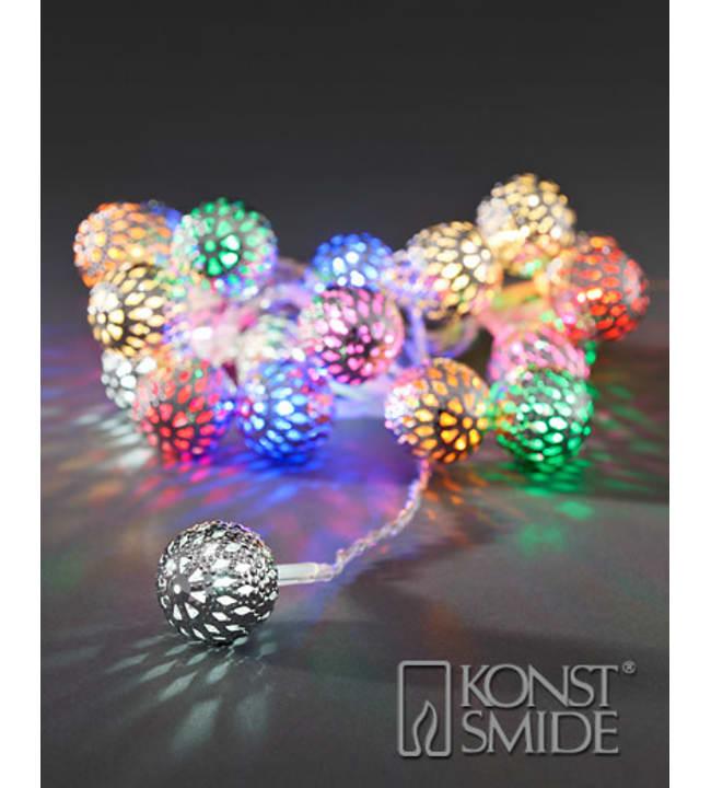 Konstsmide 3177-503 21-osainen multicolor LED valosarja