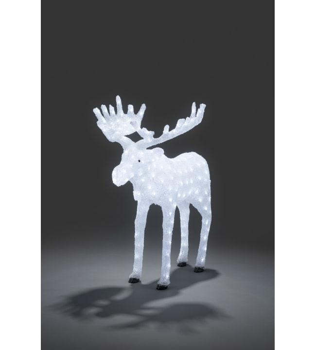 Konstsmide 6261-203 100 cm LED-akryylihirvi