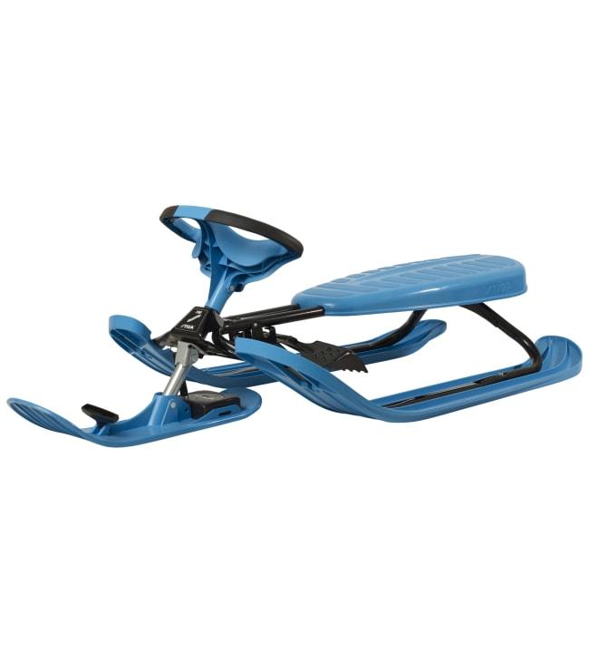Stiga Snowracer Curve sininen rattikelkka