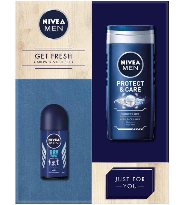 Nivea Men Get Fresh lahjapakkaus