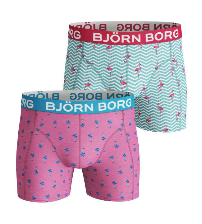 Björn Borg Mini Palms & Flamingo Stripe miesten bokserit