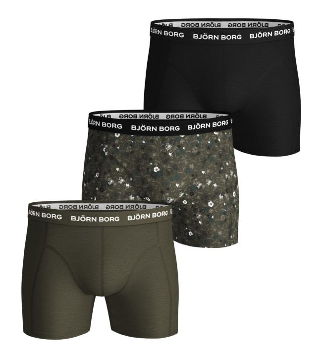 Björn Borg Sammy miesten 3-pack bokserit