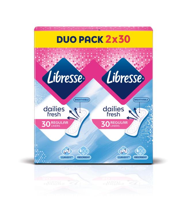 Libresse Normal Duo 60 kpl pikkuhousunsuoja