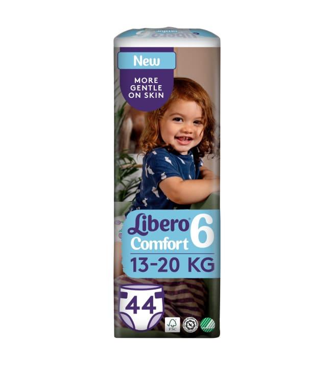 Libero Comfort koko 6, 13-20 kg 44 kpl teippivaippa