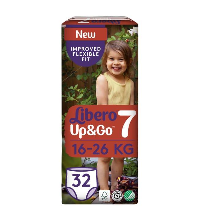 Libero Up&Go koko 7, 16-26 kg 32 kpl housuvaippa
