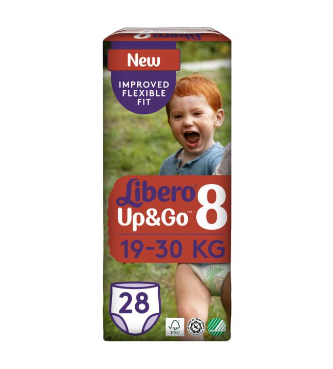 Libero Up&Go koko 8, 19-30 kg 28 kpl housuvaippa