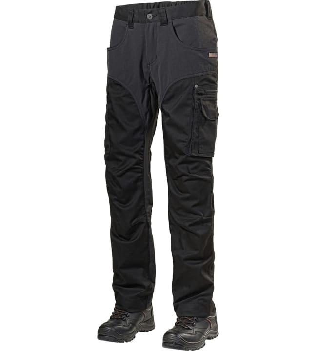 Blåkläder Highvis riipputaskuhousut musta/huomiokeltainen