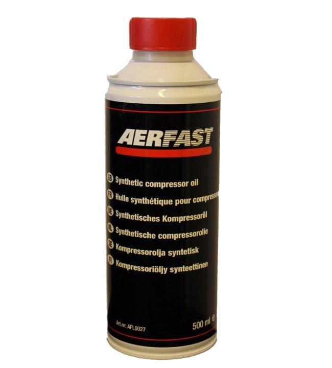 Aerfast 500ml täyssynteettinen kompressoriöljy