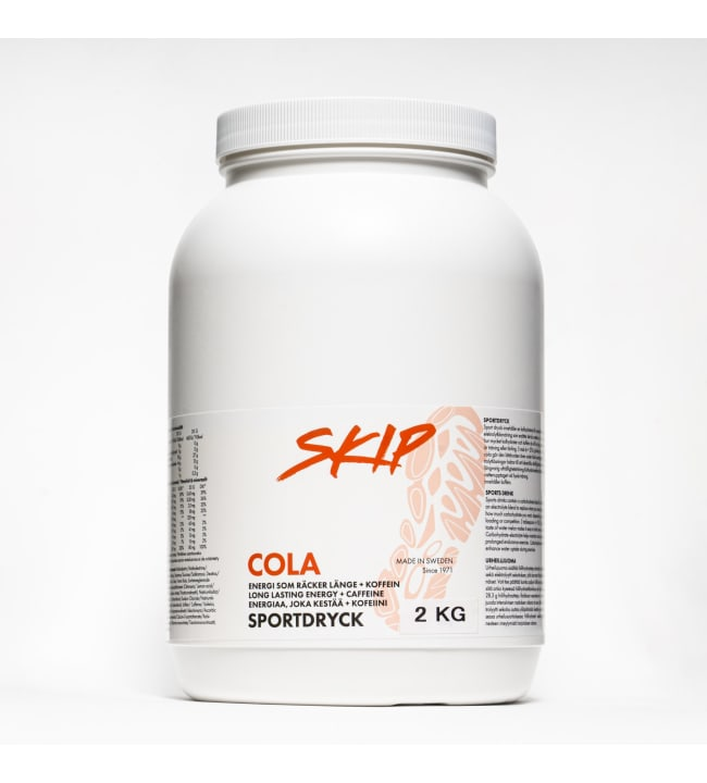 Skip Cola+Kofeiini urheilujuomajauhe