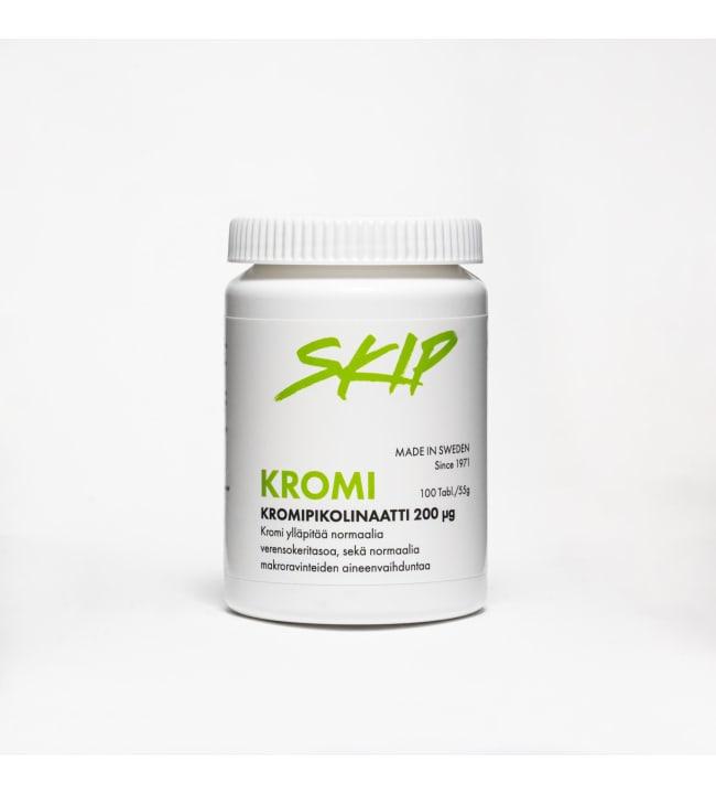 Skip Kromi  200 µg 100 tabl. ravintolisä