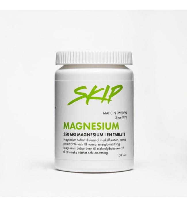 Skip Magnesium 250 mg 100tabl ravintolisä