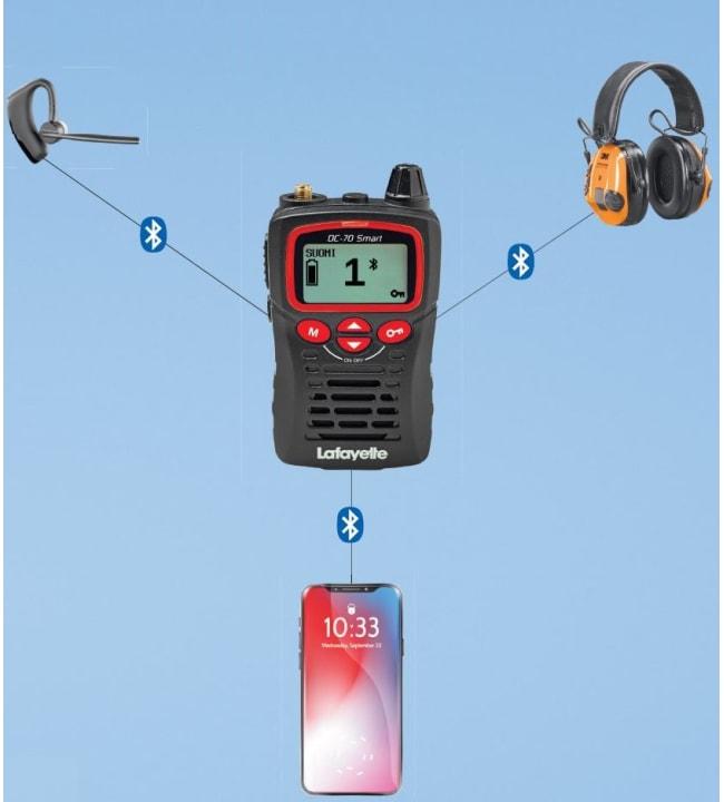 Lafayette Smart BT/bluetooth radiopuhelin