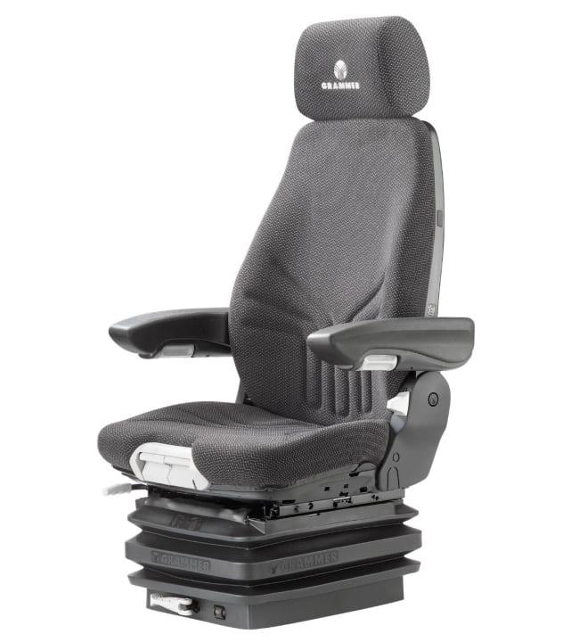 Pebe GT musta Grammer 722 säädettävään istuimeen istuinsuoja+niskatukisuoja