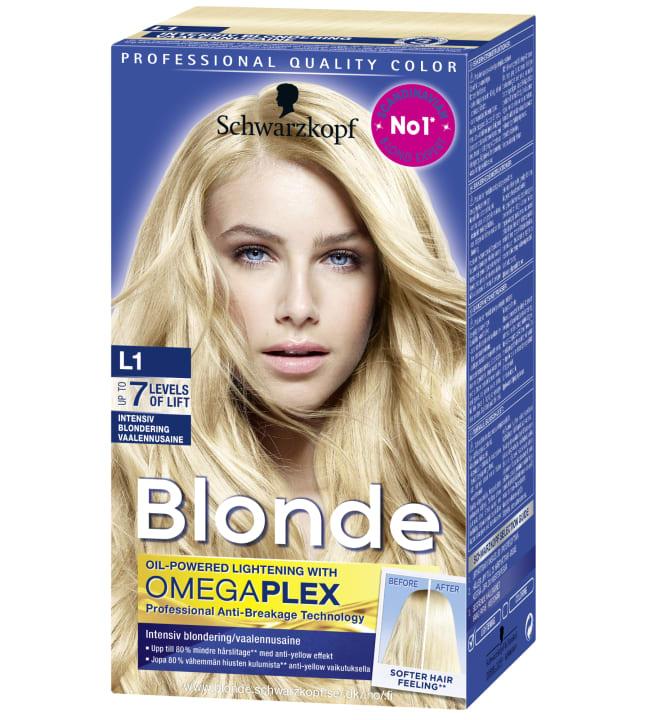 Schwarzkopf Blonde L1 Intensiivinen vaalennusaine