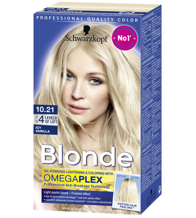 Schwarzkopf Blonde 10.21 Icy Vanilla vaalennusvoide
