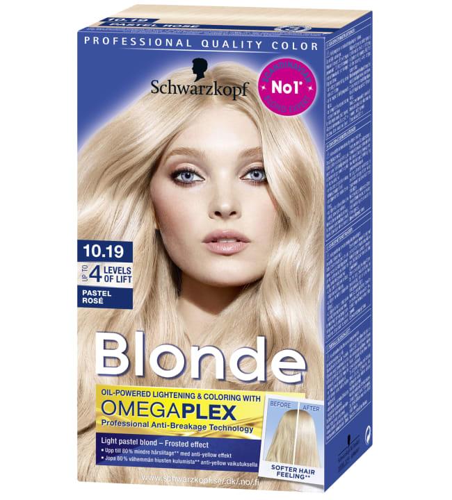 Schwarzkopf Blonde 10.19 Pastel Rosé vaalennusvoide