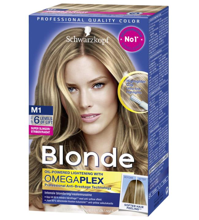 Schwarzkopf Blonde M1 Super raita-aine