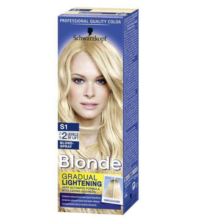 Schwarzkopf Blonde S1 Blondspray vaalennussuihke