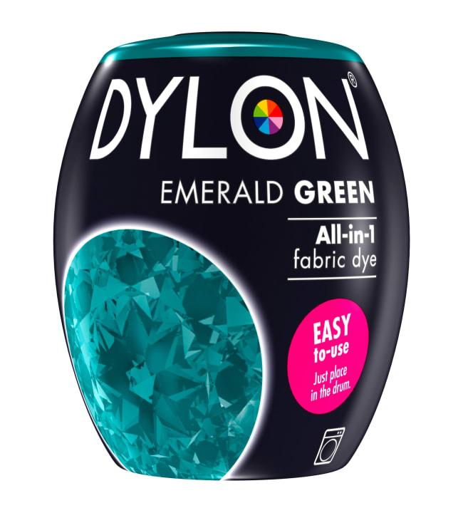 Dylon 04 Emerald Green 350 g tekstiiliväri