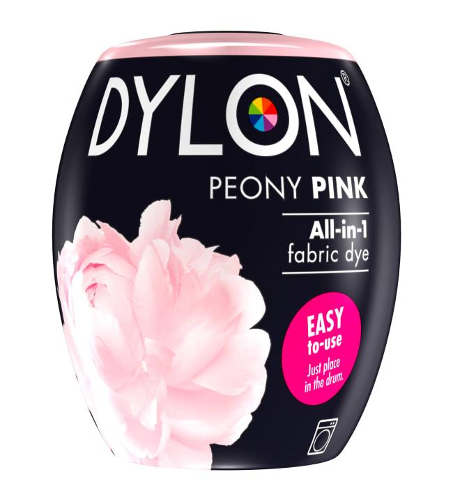 Dylon 07 Peony Pink 350 g tekstiiliväri