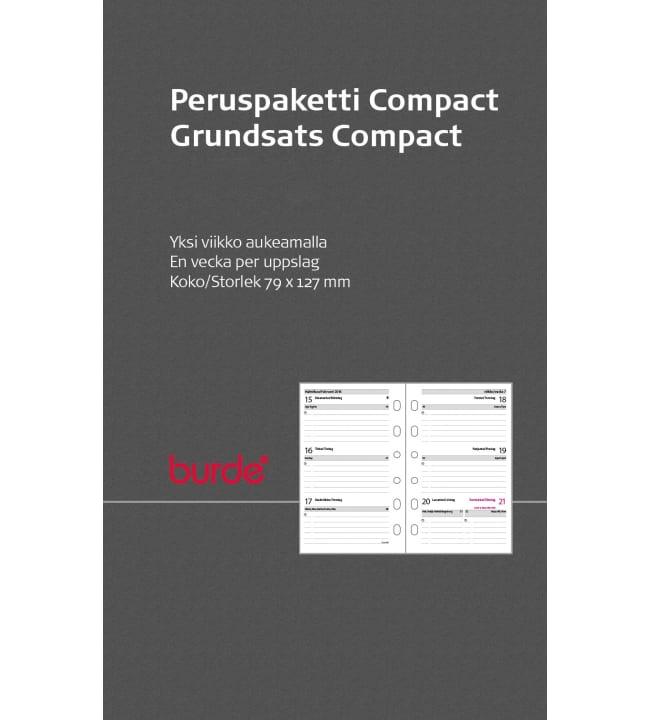 Burde Compact 2020-2021 kalenteripaketti