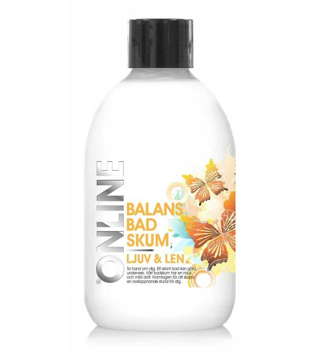 OnLine Balans Ljuv&Len 500 ml kylpyvaahto
