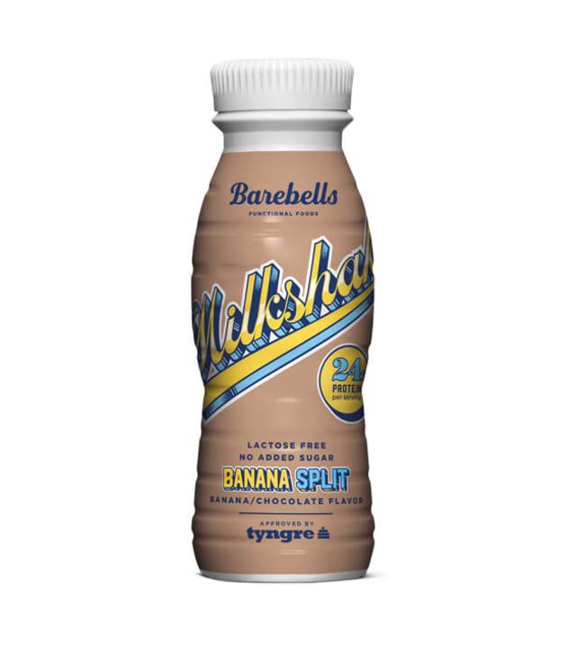 Barebells Banana Split 330 ml proteiinipirtelö