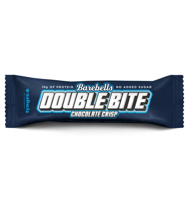 Barebells Double Bite Chocolate Crisp 55 g proteiinipatukka