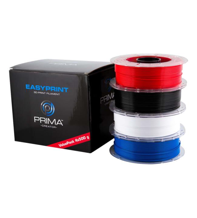 PrimaCreator EasyPrint PLA Value Pack 1.75mm 4-pack PLA-filamentti