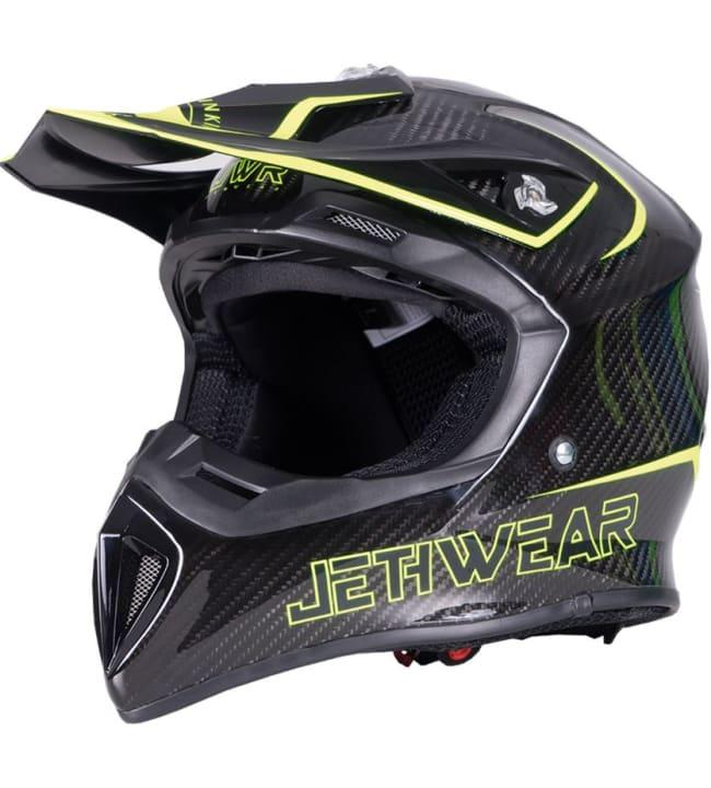 Jethwear Imperial Carbon / HiVis kypärä