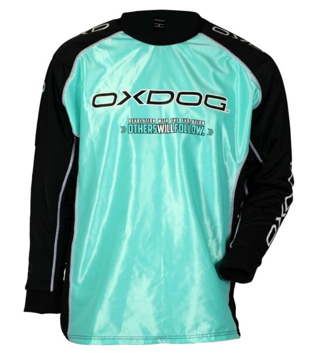 Oxdog Tour Goalie Shirt salibandymaalivahdinpaita toppauksilla