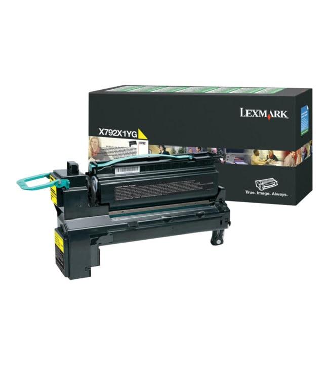 Lexmark X792X1YG keltainen laservärikasetti