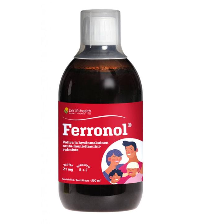 Valioravinto Ferronol 500 ml ravintolisä