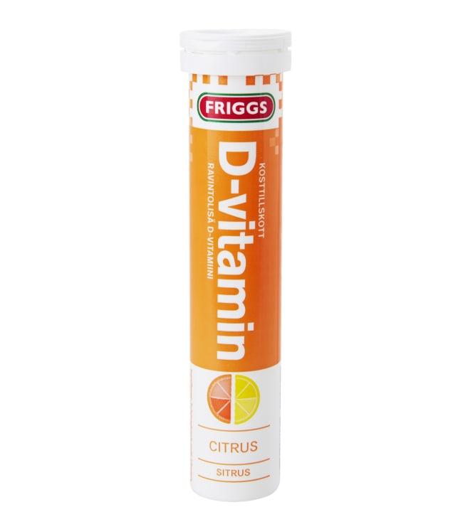 Friggs sitrus D-vitamiini 20 kpl poretabletti