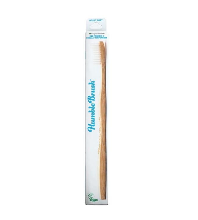 Humble Brush Adult Soft White hammasharja