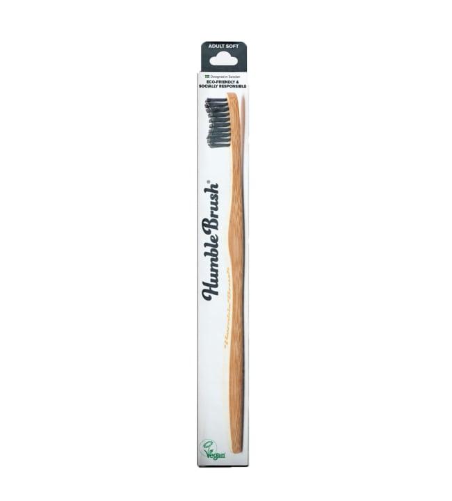 Humble Brush Adult Soft Black hammasharja